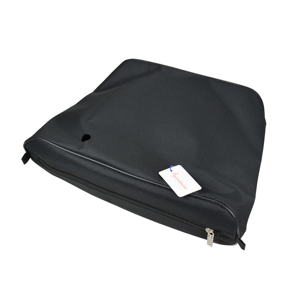 ANLAIBEIER Black advanced polyester lining Zipper Pocket Inner insert for big classic Obag AMbag O lady EVA bag women handbag