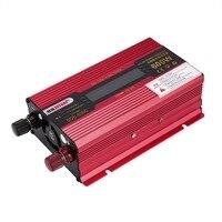 Solar Power 600W Power Inverter DC12V AC110V Home Fan Cooling Car Converter for Household Appliances Emergency Power Supply