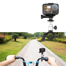 Support de guidon de moto vélo support de montage d'extension support pour DJI Osmo support d'action pour DH AM Touring accessoire d'équitation(China)