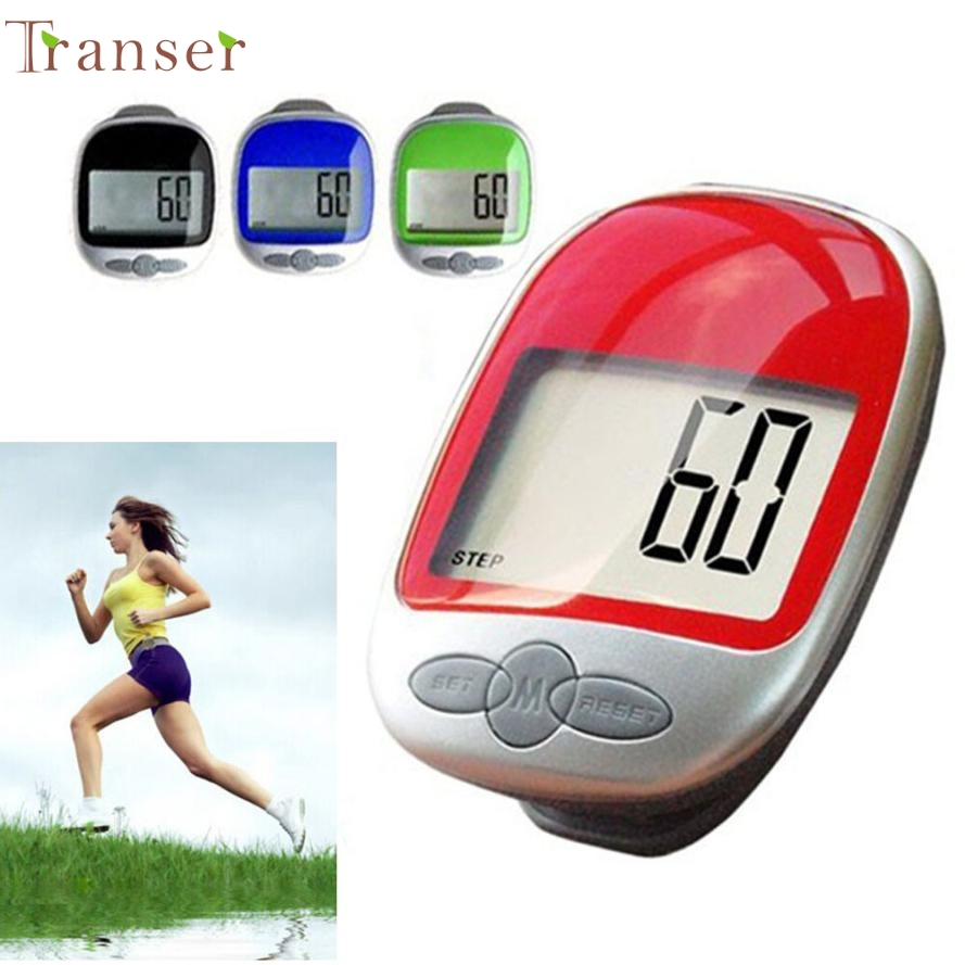 Activing 2017 Best Deal   Pedometer Calorie Counter Run Step Walk Digital Large LCD Display Clip ST27