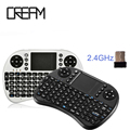 2.4G Wireless Mini I8 Wifi caja Del Teclado Air mouse Touchpad Para Android TV BOX PC TV de M8 MX MK918