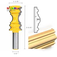 1 2 Inch Tool Holder Carbide Woodworking Cutter Crown Flower Drill Line Knife