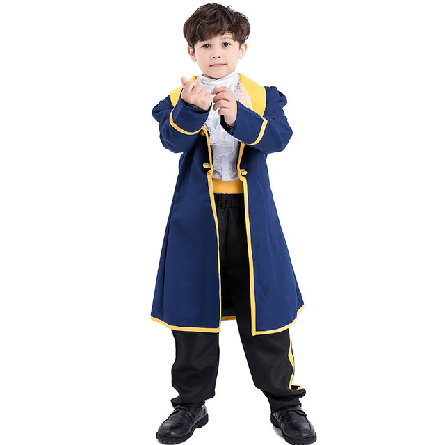 Children Beauty And The Beast King Costumes Cosplay Set For Boy Halloween Party Carnival Fancy Fairy  sc 1 st  AliExpress.com & Children Beauty And The Beast King Costumes Cosplay Set For Boy ...