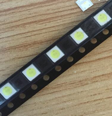 Free shipping 200pcs/lot LED Backlight High Power LED 1W 3537 3535 Cool white LCD Backlight for TV best quality.