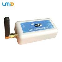 LMID DC5V 12V 24V Mini WIFI LED RGB Controller Smartphone Control For SMD 5050 RGB RGBW