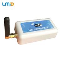 LMID DC5V 12V 24V Mini WIFI LED RGB Controller Smartphone Control For SMD 5050 RGB RGBW LED Strip Light LED Moudle