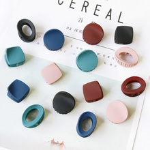 Fashion Women Hair Clips For Girls Acrylic Claw Barrettes Vintage Spring Simple Crab Clamp Accessories 5Pcs/Lot
