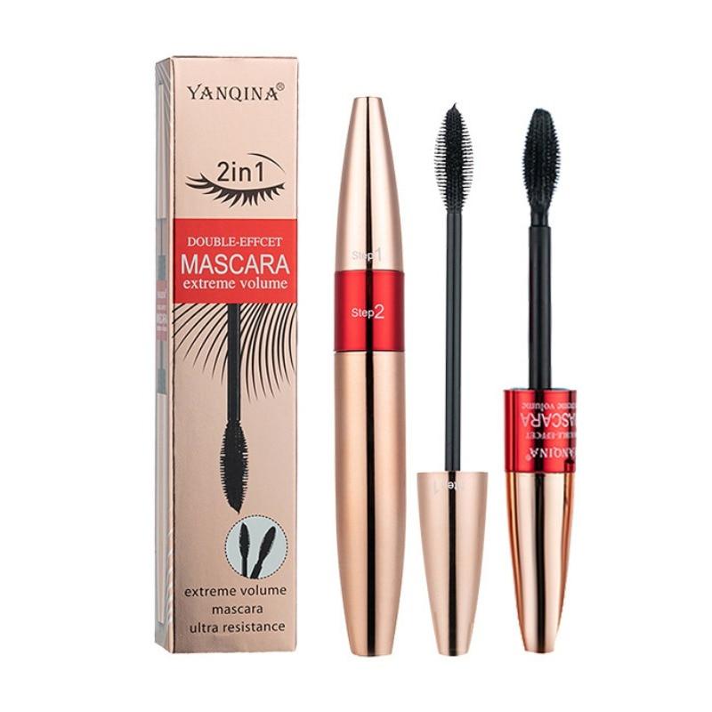 Fiber Mascara Long 3D Silk Lash Eyelash Black Extension Eye Waterproof Makeup maquiagem