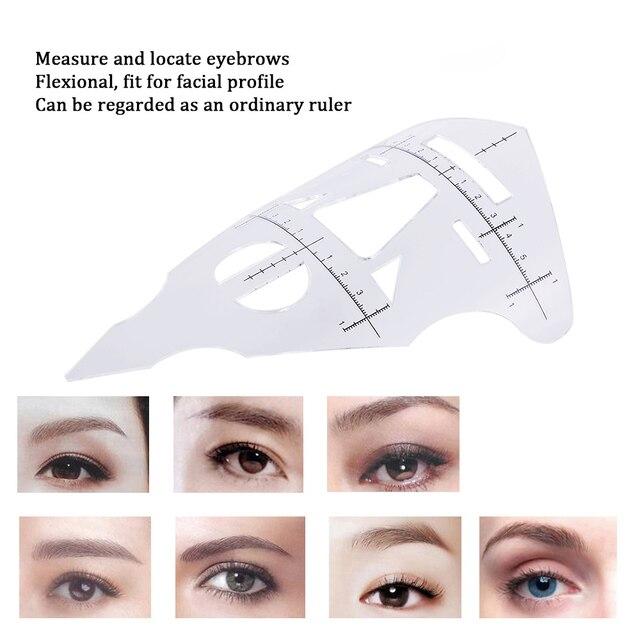 Aliexpress Buy Eyebrow Ruler Makeup Eyebrow Shaping Tools