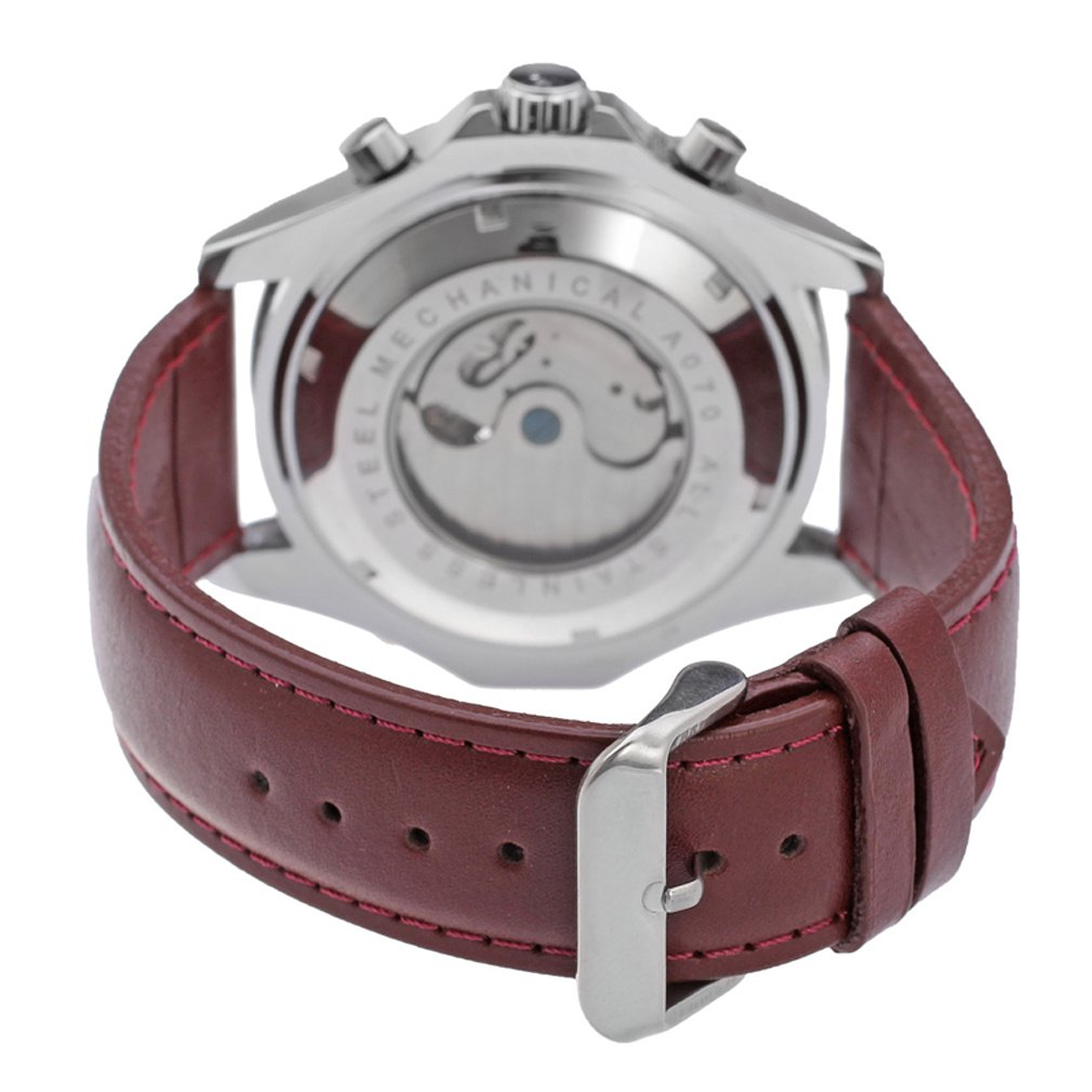 New Fashion Luxury JARAGAR Tachymeter Tourbillon Automatisk Datum - Herrklockor - Foto 6