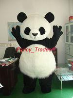 Professional Panda Bear Mascot Fancy Dress Costume Adult Size EPE Suit