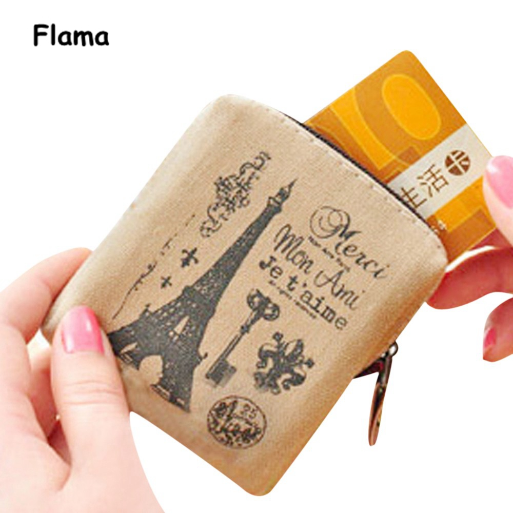 2016 Hot Sale,Coin Purse Classic Retro Canvas Purse Wallet Card Key Coin Bag Pouch Case Bag Bolso Masculino j m d hot sale high quality classic brown real leather mini wallet purse key case men s hand bag cartera freeshipping 8023b