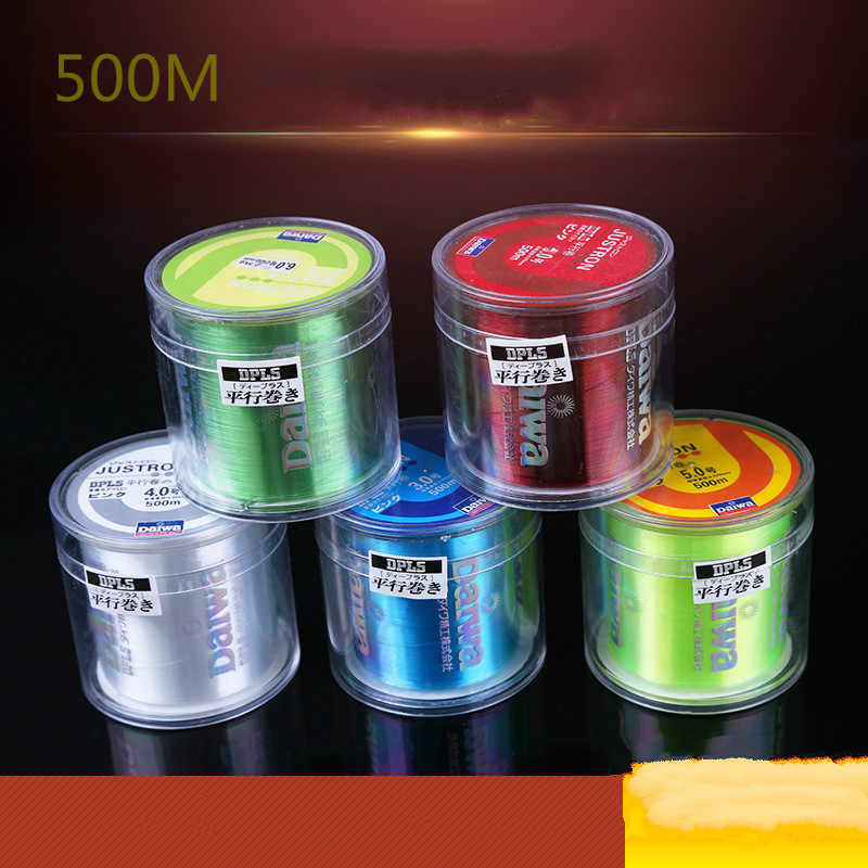 Nylon Line Super Strong Nylon Fishing Line 500M  Monofilament Line Japan Material Fishline for Carp fishing Parallel Volume