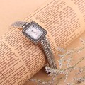 S925 Sterling Silver Watches Woman's Quartz Watch Thai Silver Bracelet Woman Gifts Wristwatch Quartz