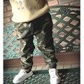 2017 Resorte Muchachas de Los Bebés Pantalones de Camuflaje Estilo de La Moda de Marca Niños Pantalones 1-8yrs Chicos Ropa de Otoño Deportes de Los Muchachos Pantalones