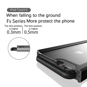 Image 5 - For Apple iPod Touch 7 IP68 Waterproof Case 360 Degree Protection Dropproof Shockproof Diving Shell for iPod 5 6 Case Underwater