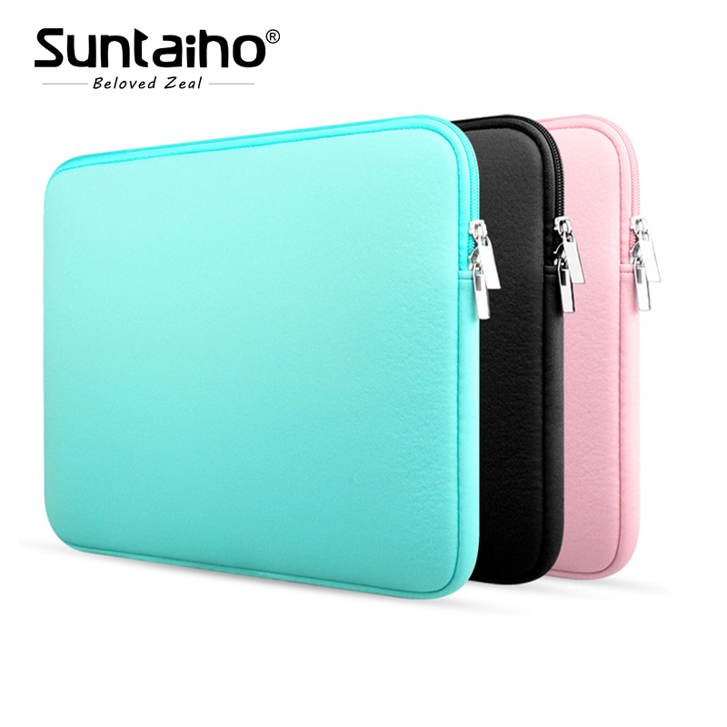 "2017 Soft Laptop Sleeve Case For Notebook Computer 11.6"" 13.3"" 14"" 15.4"" sleeve case For Macbook Air Pro"