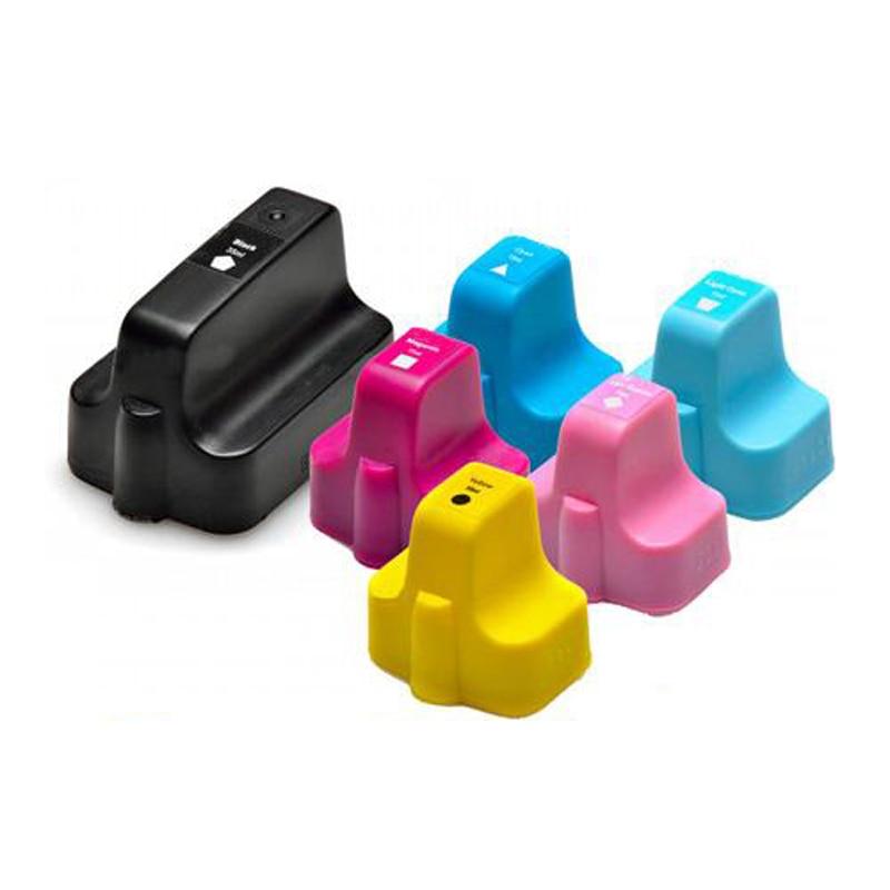Vilaxh 177 Substituição do Cartucho de Tinta Compatível para HP 177 para Impressora Photosmart C5100 C5183 C6183 3310 3210 C5140 C6180 C7170