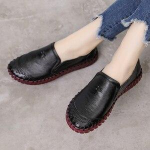 Image 3 - GKTINOO 2020 mode femmes chaussures en cuir véritable mocassins femmes chaussures décontractées doux confortable chaussures femmes chaussures plates