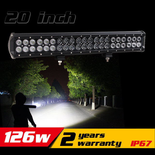 20 inch 126w led light bar for tractor atv led offroad light bar 20 inch 126w led light bar for tractor atv led offroad light bar led bar offroad aloadofball Image collections