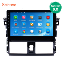 Seicane 2Din Android 6.0/7.1/8.1 10.1 inch GPS Car Radio Touchscreen Wifi Multimedia Player Head Unit For 2013 2014 Toyota Vios
