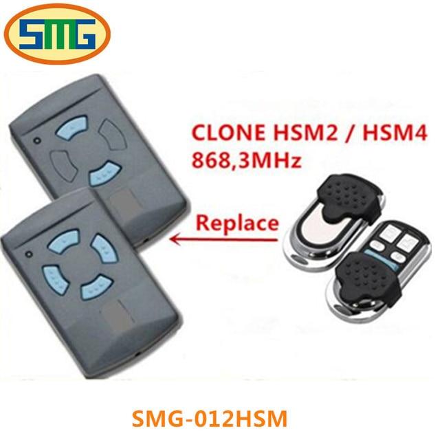 1x 868mhz Electric Garage Door Remote Control For Hormann Hs2 Hs4