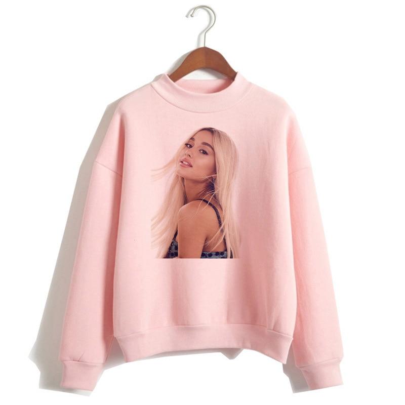 Ariana Grande Sweatshirt 19 No Tears Left To Cry Hoodie Women Print God Is A Woman Sweatshirts Pullover hoodies Harajuku 8