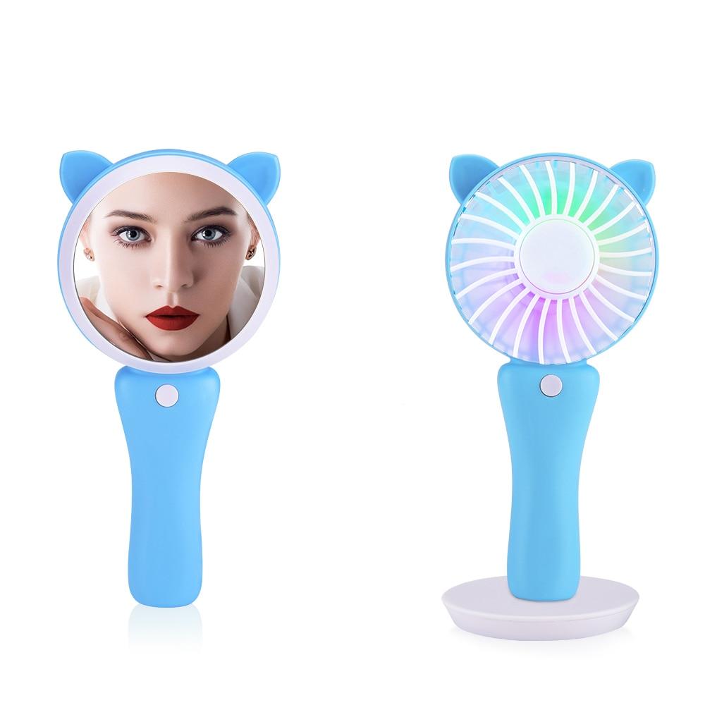 Schönheit & Gesundheit Billiger Preis Tragbare Make-up Spiegel 360-grad Rotation 8x Vergrößerung 6 Led Helle Licht Magnetische Abnehmbare Eitelkeit Make-up Spiegel Neue Schminkspiegel