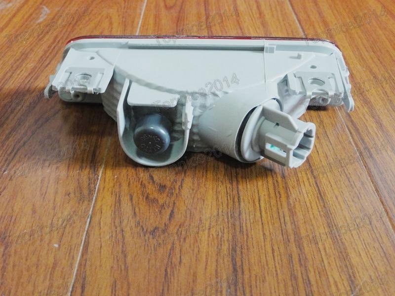 1pcs Nova crvena svjetiljka za maglu za stražnji branik za NISSAN - Svjetla automobila - Foto 3