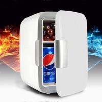 4L Electric Car Refrigerator Car Home Dual Use Mini Refrigeration Machine Safe Material Portable Fridge USB