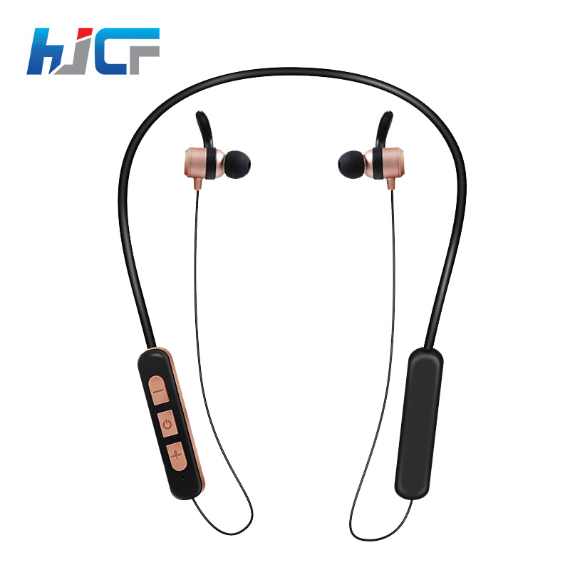 Hot Sale HJCF Bluetooth Headphone Sport Earphone Neckband Wireless Headset With Microphone For iPhone Samsung Xiomi Mi HS13 wireless bluetooth headset hbs500 sport portable 3d stereo headphone v4 1 bluetooth headphone neckband style for all phones