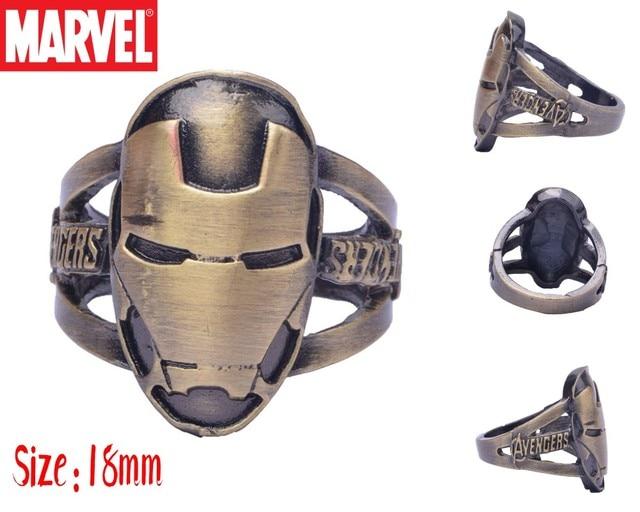 Кольца с эмблемами героев Марвел и DC Marvel 3