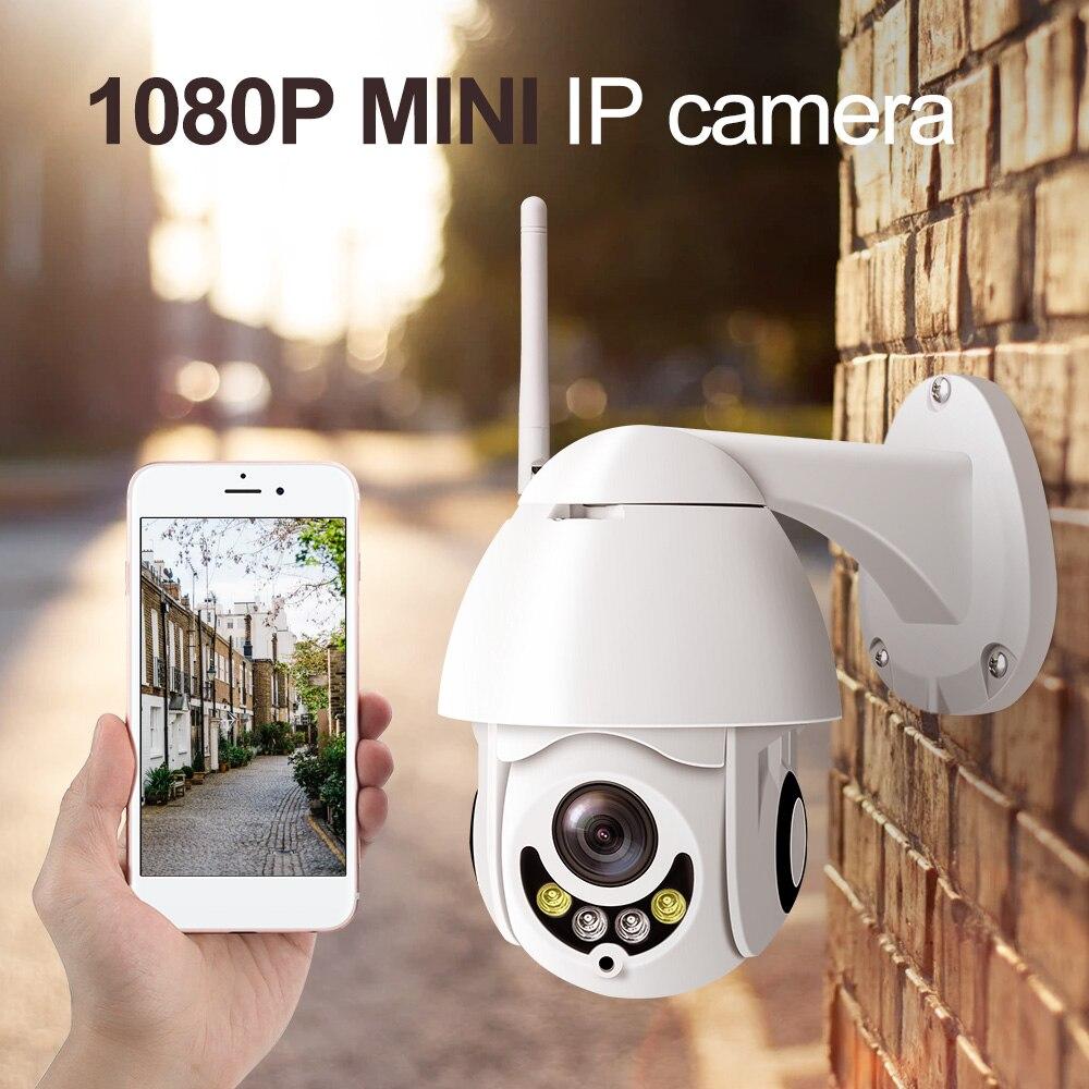 17x11.5cm Mini Size HD IP PTZ Camera Network Speed Dome 5X Zoom PTZ IP Camera CCTV 50m IR Night Vision Speed Dome Cameras mini ptz ip camera 1080p hd outdoor waterproof speed dome pan tilt 10x zoom ir night vision 50m 2 megapixel network cctv ip cam