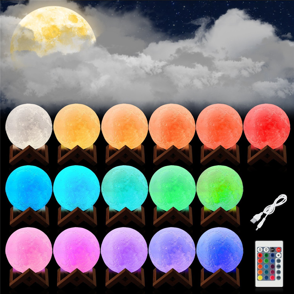 HTB18JTydCYTBKNjSZKbq6xJ8pXax Moon Light 3D Print Moon Globe Lamp, 3D Glowing Moon Lamp With Stand, Luna Moon Lamp Night Light for Home Bedroom Decor Children
