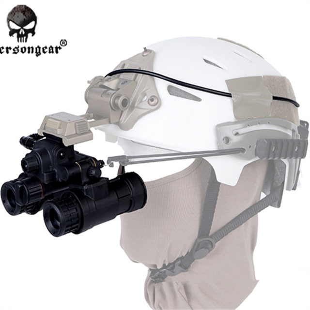 Original Emersongear PVS-31 NVG Dummy Tactical Helmet Night Vision Goggle  Battery Box Case Dummy Model  for Helmet