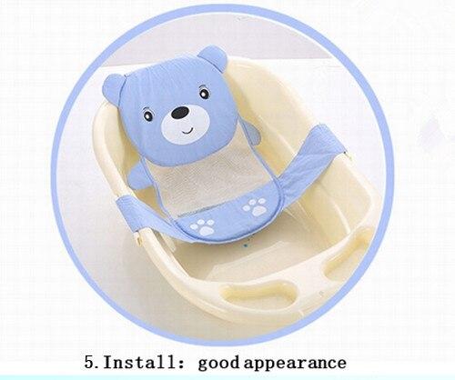 Hot Slae Einstellbare Baby Badewanne Cartoon Muster Neugeborenen