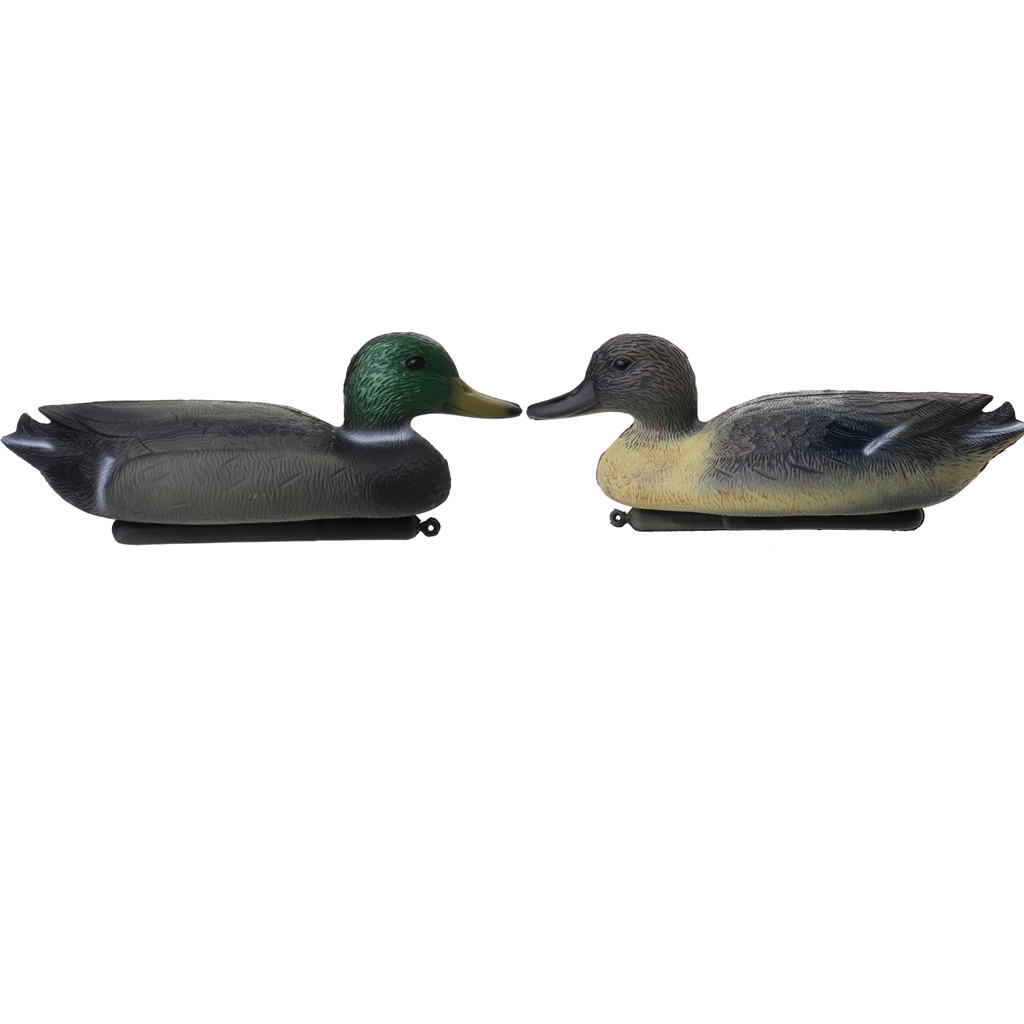 4 Pcs 3D PE Lifelike Duck Decoy Floating Lure for Outdoor Hunting Fishing Photography