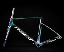 2019 Rennrad Rahmen Carbon Road Fahrrad Rahmen Di2 Mechanische UD Schwarz Carbon Rahmen Größe 465 485 500 520 540mm 2 Jahr Garantie