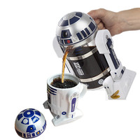 960ML Star War R2D2 coffee pot french presses pots creative kettle drinkware