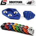 Sale Motorbike Kickstand Foot Side Stand Extension Pad Support Plate For BMW F800R R1200S HP2 Sport
