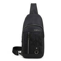 ARCTIC HUNTER Famous Brand Men Chest Bag Pack Crossbody Bags Waterproof Oxford Large Capacity Handbag For