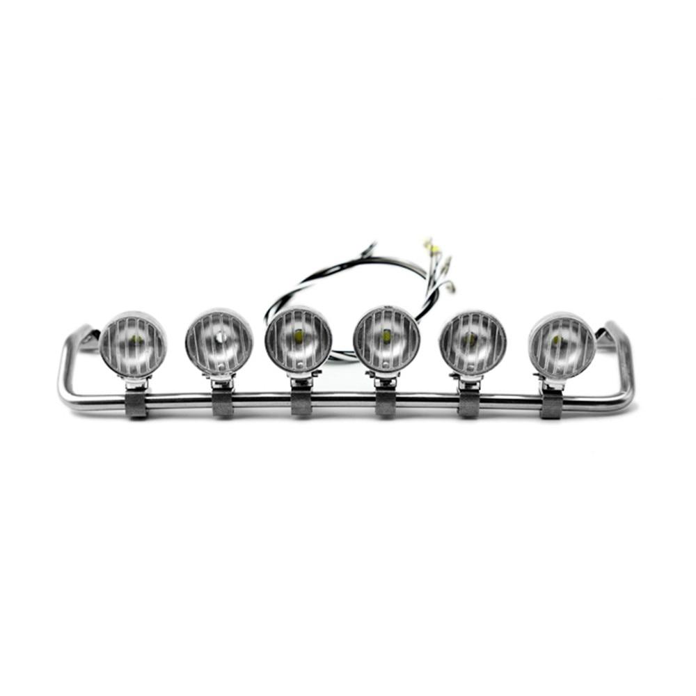 Projecteur de LED de voiture RC pour TAMIYA 1/14 Scania R620 R470 RC modèle pièces de voiture de camion tracteur LED accessoires de lampe supérieure