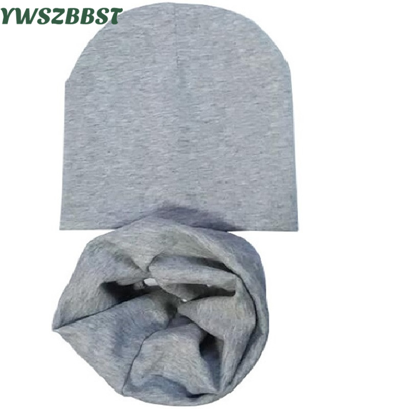 New Baby hat scarf set kids girl hats Baby Boy Cap Spring Autumn Winter Child scarf Collar infant hats Baby caps scarf jancoco max new spring genuine soft cowhide leather men baseball caps autumn winter fashion solid army hats s3062