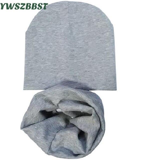 Nuevo Bebé sombrero bufanda conjunto niños niñas sombreros bebé niño gorra primavera  otoño invierno Niño bufanda 9ff0930ab61