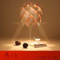 Modern Handmade Wood Led Pinecone Pendant Lights Home Restaurant Hanging Pine Cone Wood Pendant Lamps