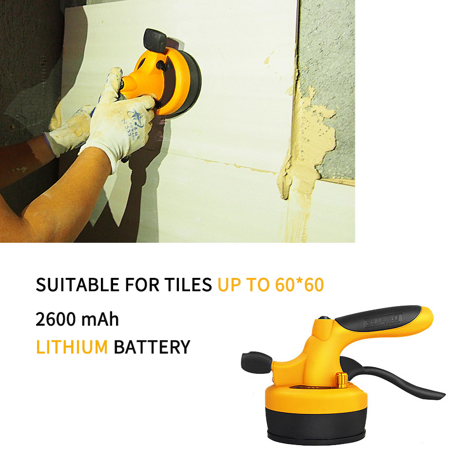 Lithium Battery Wireless Tile Leveling Machine Tile Floor Portable Power Tool Wall Tile Vibration Leveling Pressure Tool