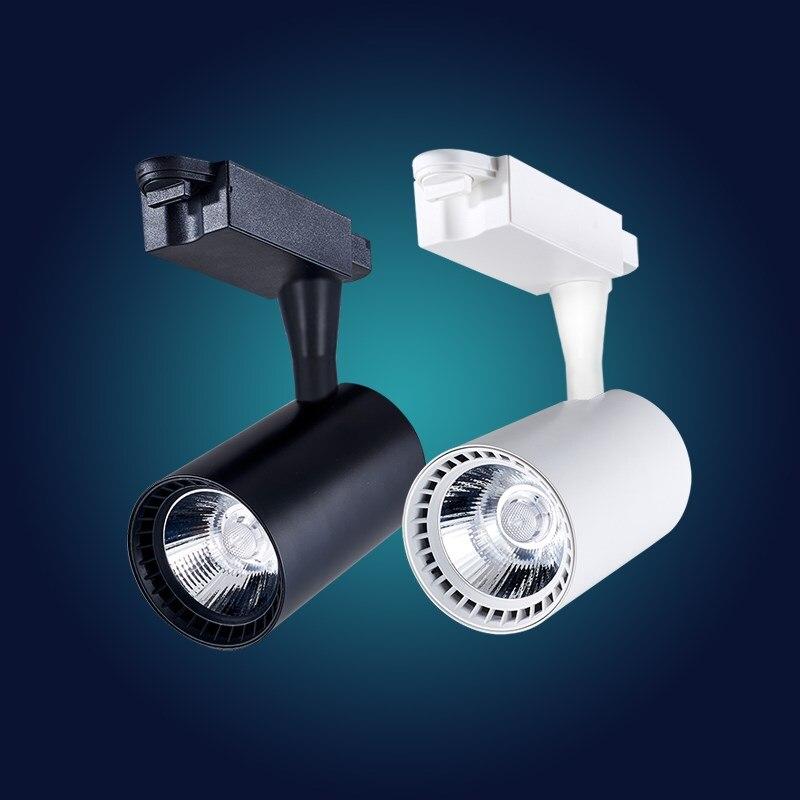 Best Overhead Shop Lights: Led Tracklight COB Track Light Clothing Store Display