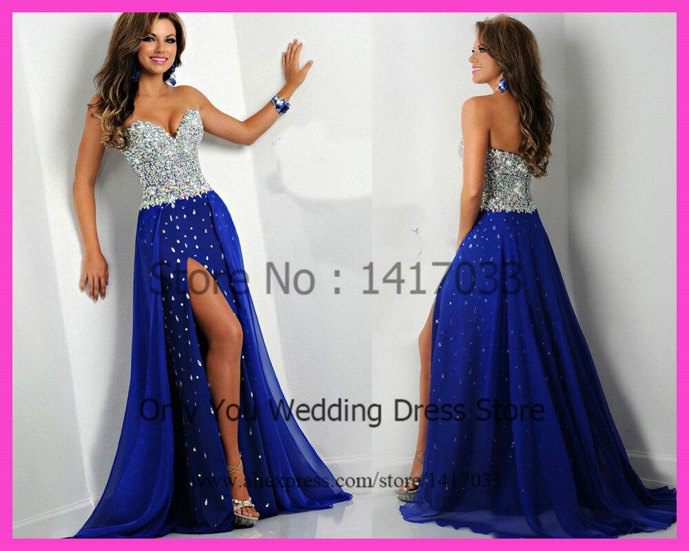 Royal Blue Prom Dresses 2015