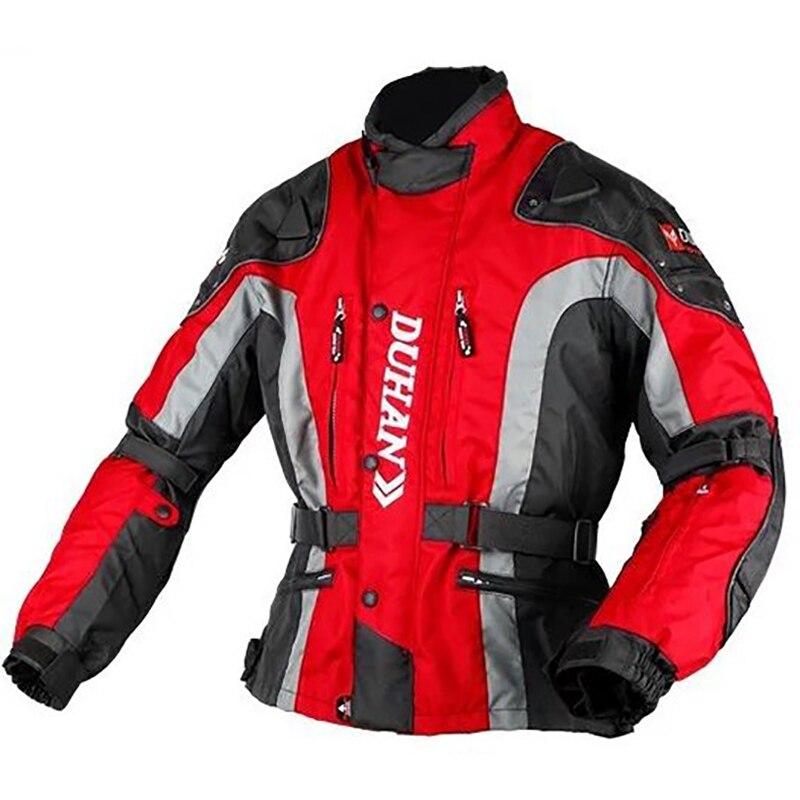 2017 Motocross Dunham Duhan Course Automobile Moto Vestes Résistance Aux Chutes Vêtements Veste Oxford Tissu D'épaississement Doublure