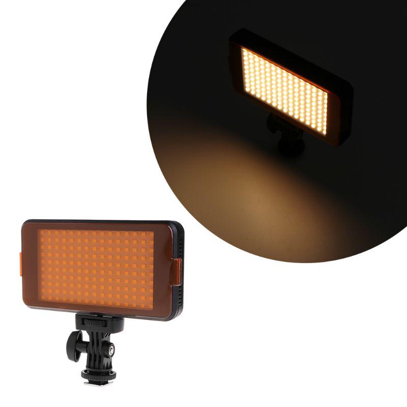 Professionnel Caméra Vidéo LED Light Lamp Panel Dimmable Pour DSLR Appareil Photo Caméscope